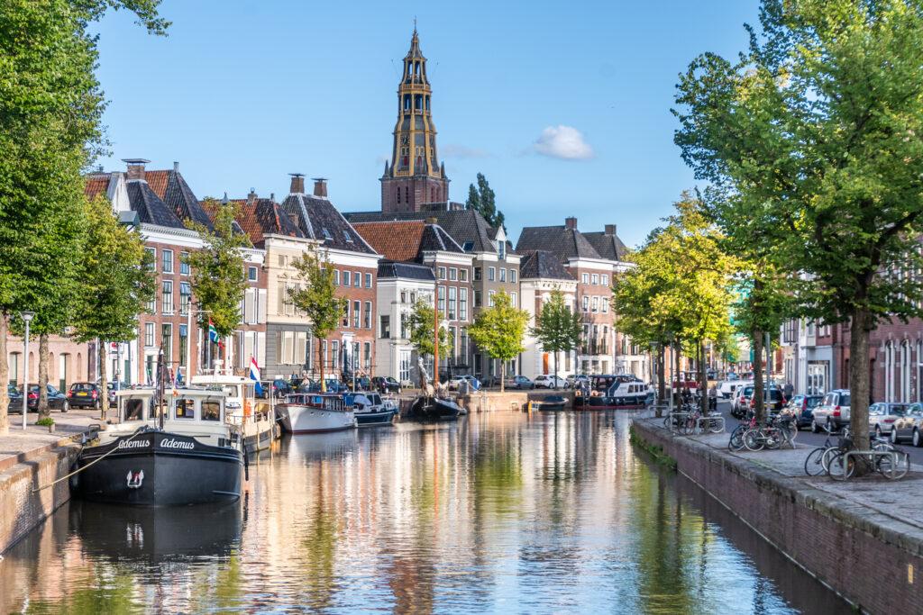 Water Groningen gracht
